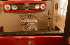 Hanging Wall Art - 25 Inventive Examples of Furniture Made From Car Parts   Complex