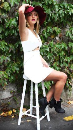 Zip it Dress Online Fashion Boutique, Golden Girls, My Wardrobe, Latest Trends, White Dress, Zip, Shopping, Collection, Dresses