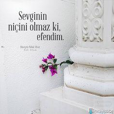 """#biracayipblog • """"Sevginin niçini olmaz ki, efendim."""" - Hüseyin Nihal Atsız / Ruh Adam • [Fotoğraf: @kefentohumu] • ✍ [Okur Postası: posta@biracayipblog.com] • www.biracayipblog.com"""