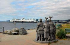 Edmonds scenic: Ferry watchers on Olympic Beach - My Edmonds News I love to ride the Ferry, Soo peaceful <3