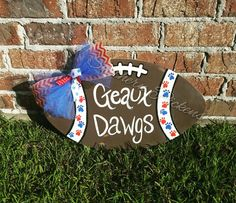 Southern Pickens: Football Door Hanger