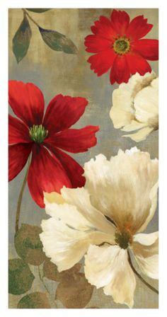 Springerle Florals II Print by Asia Jensen at Art.com