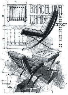 Výsledok vyhľadávania obrázkov pre dopyt sketch drawing furniture original