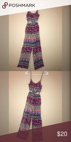 Multi Color Jumpsuit Jumpsuit Pants Jumpsuits & Rompers