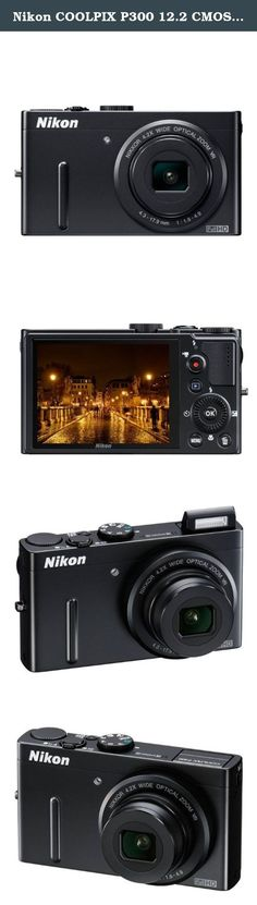 Nikon COOLPIX P300 12.2 CMOS Digital Camera with 4.2x f/1.8 NIKKOR Wide-Angle Optical Zoom Lens and Full HD 1080p Video (Black). Shed new light on your creativity with the fastest lens in a Nikon Coolpix camera with its new, wide angle, f/1.8 maximum aperture Zoom-NIKKOR glass lens. The fastest lens ever in a Nikon Coolpix. The Coolpix P300 digital camera does justice to your photographic talents with a 4.2x wide angle, F1.8 maximum aperture NIKKOR glass lens. This is the fastest lens…