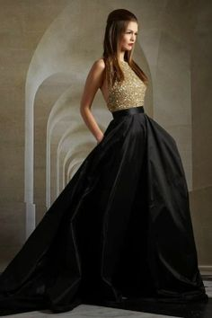 Elegant women long dresses
