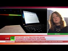 8 Mar '17:  CIA Vault 7 created malware designed to penetrate software - WikiLeaks - YouTube - RT Europe  - 7:52
