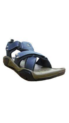 Volo Blue Sporty Men Sandals (Size-8)