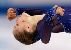 Julia Lipnitskaya of Russia competes in the women's short program figure skating competition at the Iceberg Skating Palace during the 2014 Winter Olympics, Wednesday, Feb. 19, 2014, in Sochi, Russia. (AP Photo/Bernat Armangue)