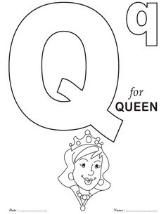 printables alphabet q coloring sheets these are the ones for the alphabet hole punch activity