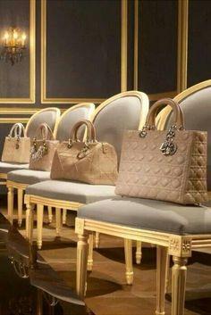 Beautiful Biege Bags