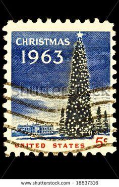 1963 Christmas Tree - 5 cents!