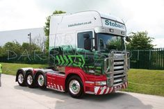 Scania Longline truck | Stobart | 4 axles | Long cabover