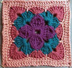 7 crochet squares