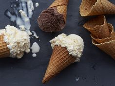 Get your ice cream in a waffle cone, not a cup!