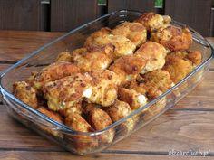 Poduszki z kurczaka Polish Recipes, Fried Rice, Poultry, Cauliflower, Main Dishes, Cake Recipes, Chicken Recipes, Food And Drink, Homemade
