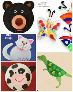 20 Fabulous Paper Plate Animal Crafts  sc 1 st  Pinterest & 20 Fabulous Paper Plate Animal Crafts | Paper plate animals Animal ...