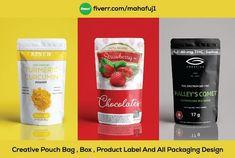 I will do label design, pouch design, bag design, box design Bag Design, Label Design, Food Design, Food Packaging Design, Branding Design, Pouch Packaging, Brand Style Guide, Book Design Layout, Graphic Design Services