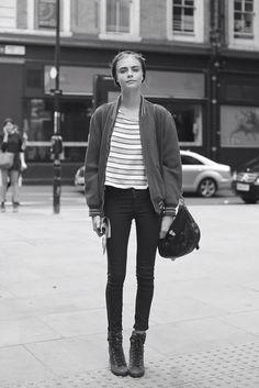 cara delevingne             street style