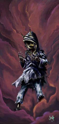 Majora's Mask Art by SKA