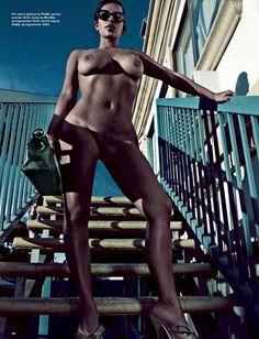 The time she got naked *AGAIN* for Love Magazine - CosmopolitanUK
