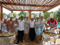join us for our Paella cooking lessons at #mainpool #valentinimperialmaya