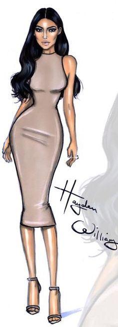 by Hayden Williams: Kim Kardashian West