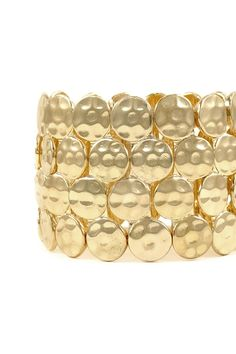BALI GOLD AND MARBLE CUFF