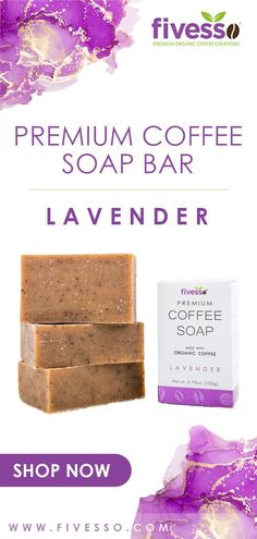 Give your skin the best, for you are going to wear it for the rest of your life! Try our Lavender Premium Coffee Soap Bar (Pack of 3 Bars) and glow with its natural ingredients! 🌸💜 #soapbar #soapbars #soapbarcoffee #soap #soaps #soaplove #skincare #skin #skincareroutine #skincareaddict #skincaretips #skinhealth #skintreatment #skincarelover #organic #organicskincare #allnatural #fivesso