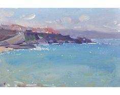 Ericeira Cliffs - original seascape landscape oil painting FREE SHIPPING WORLDWIDE