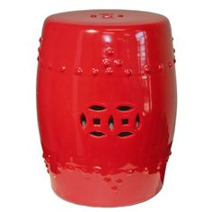 Legend Of Asia Garden Stool - Pepper Red 1779 - Legend Of Asia Garden Stool - Pepper Red 1779SKU: 1779Manufacturer: Legend Of AsiaCategory: Garden StoolFinish: Pepper RedDimensions: 13W x 13D x 17H