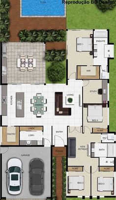 house floor plan with furniture layout - Home Decor -DIY - IKEA- Before After Sims House Plans, House Layout Plans, Best House Plans, Dream House Plans, House Layouts, House Floor Plans, Architectural Design House Plans, Home Design Floor Plans, Indian House Plans