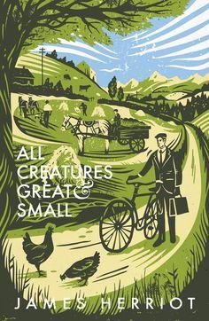 James Herriot cover by Tom Duxbury House Of Hades, Dark Warrior, Wild Creatures, Graphic Design Typography, Book Cover Design, Cover Art, Book Worms, Illustrators, Book Art
