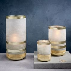 Frosted Sand Candleholders + Vases | west elm