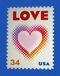 370 Best Stamps with hearts images in 2019 | Love stamps