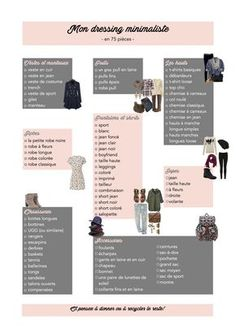 dressing minimaliste, garde-robe, vêtements, écologie