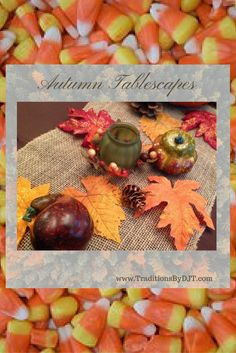 Fun & Festive #Autumn #Fall #table #settings at www.TraditionsByDJT.com