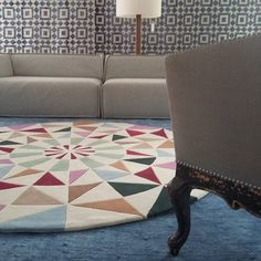 @sagat33 | #decoração #bykamy #rotondo #tapete