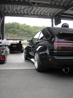 ≪No.0165≫  ・ニックネーム  キンクロ       ・メーカー名、車種、年式  TOYOTA AE86トレノ 1986     ・アピールポイント  オーバーフェンダー  ドライサンプエンジン  いっぱいあって書ききれないです....