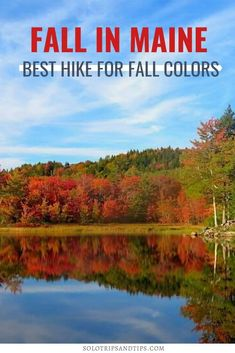 Best Maine hike for fall colors! You have to hike the ocean lookout trail in Camden State Park for beautiful foliage and views of coastal Maine. #maine #mainecoast #coastal #fall #fallcolors #mainefoliage #mainehike #bestfallhikes #newengland #newenglandroadtrip #autumn Summer Vacation Spots, Vacation Ideas, Beautiful Places To Travel, Cool Places To Visit, Travel Usa, Travel Tips, Coastal Fall, Camden Maine, Hiking Tours