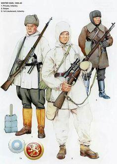 Finnish Army, Winter War, pin by Paolo Marzioli