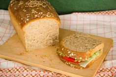 Σπιτικό Ψωμί Ολικής για Τοστ – Homemade Sandwich Bread with Spelt FLour Homemade Sandwich Bread, Bread Recipes, Cooking Recipes, Instant Yeast, Recipe Using, Sandwiches, Recipies, Treats, Food