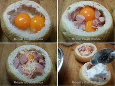 Huevos en un nido Eggs in a nest