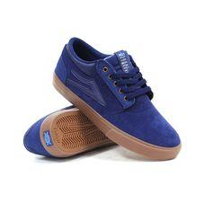 Lakai Griffin (Navy/Gum Suede) Men's Skate Shoes