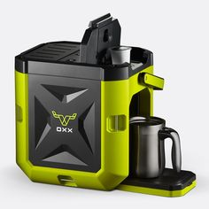 COFFEEBOXX Single Serve Portable Coffee Maker by OXX -- Wow! I love this. Check it out now! : Coffee Maker