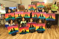 Kids painting birthday parties!