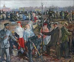 Бучкин П. Всероссийский праздник труда 1 мая 1920 г.