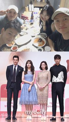 """Kim Woo-bin, cheer up!"" Lim Ju-hwan and the ""Uncontrollably Fond"" crew"