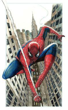 The Amazing Spider-Man - Nikolas Draper All Spiderman, Spiderman Kunst, Amazing Spiderman, Spiderman Tattoo, Spider Man Trilogy, Web Swing, Spider Man Unlimited, Spectacular Spider Man, Arte Dc Comics