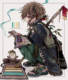 Original Artwork by Anime Chibi, Kawaii Anime, Manga Anime, Anime Art, Fantasy Character Design, Character Drawing, Character Design Inspiration, Fantasy Characters, Anime Characters